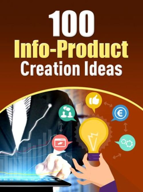 Product picture 100 Info Product Creation Ideas - PLR eBook