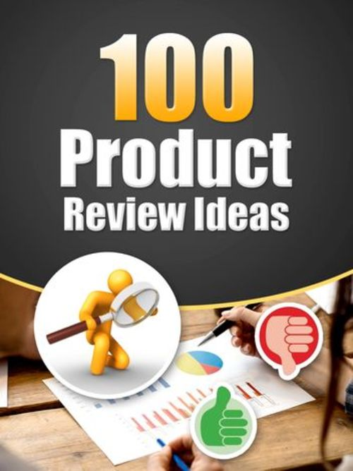 Product picture 100 Product Review Ideas - PLR eBook