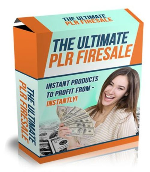Product picture The Ultimate PLR Firesale - 14 High Quality Products